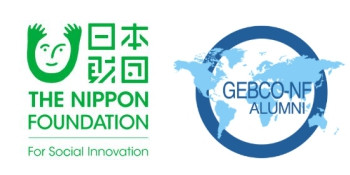 Nippon Foundation and GEBCO-Nippon Foundation Alumni Team logos