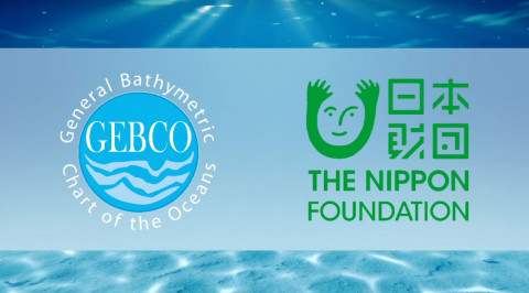 GEBCO and Nippon Foundation logos