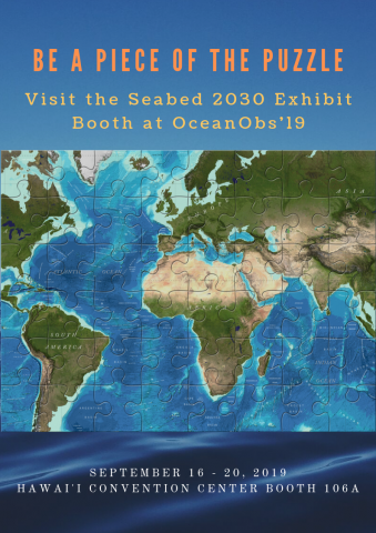 Seabed 2030 at OceanObs19