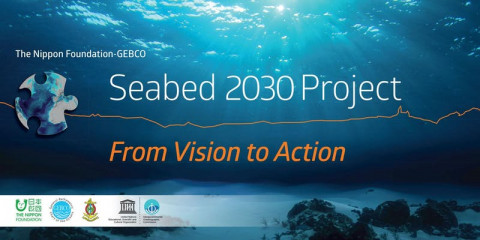 The Nippon Foundation-GEBCO Seabed 2030 Project Event: From Vision to Action, at the Royal Society, London, October 22 2019.