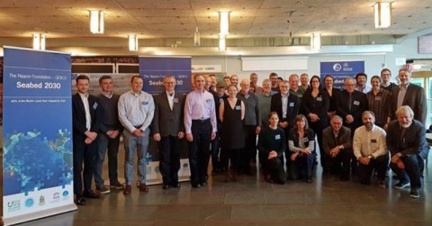 Attendees at the First Nippon Foundation-GEBCO Seabed 2030 Project regional mapping meeting for Arctic, Antarctic & North Pacific held in Stockholm