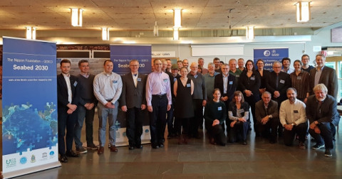 Attendees at the first Seabed 2030 - Arctic, Antarctic and North Pacific Mapping Meeting