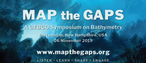 The GEBCO Map the Gaps Symposium, 2019