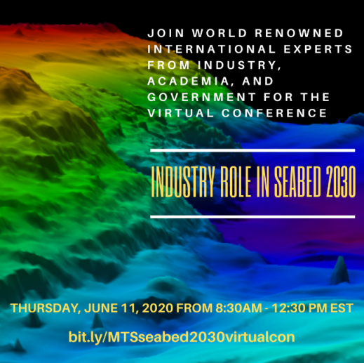 Marine Technology Society special virtual conference